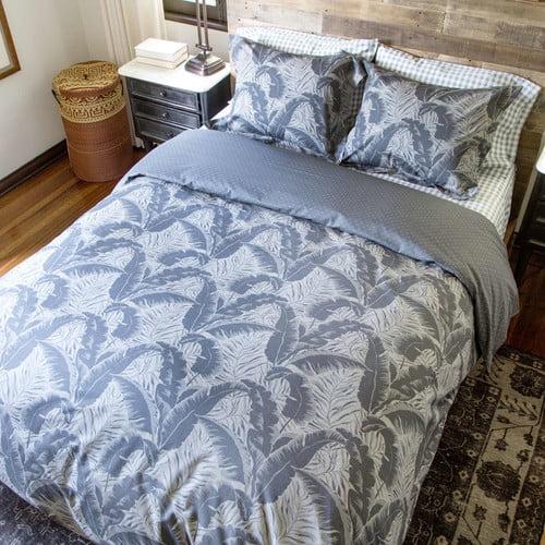 Thread Experiment 100pct Cotton 2 Piece Reversible Duvet Cover Set