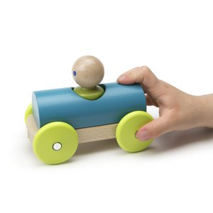 Tegu Magnetic Racer Teal and Green