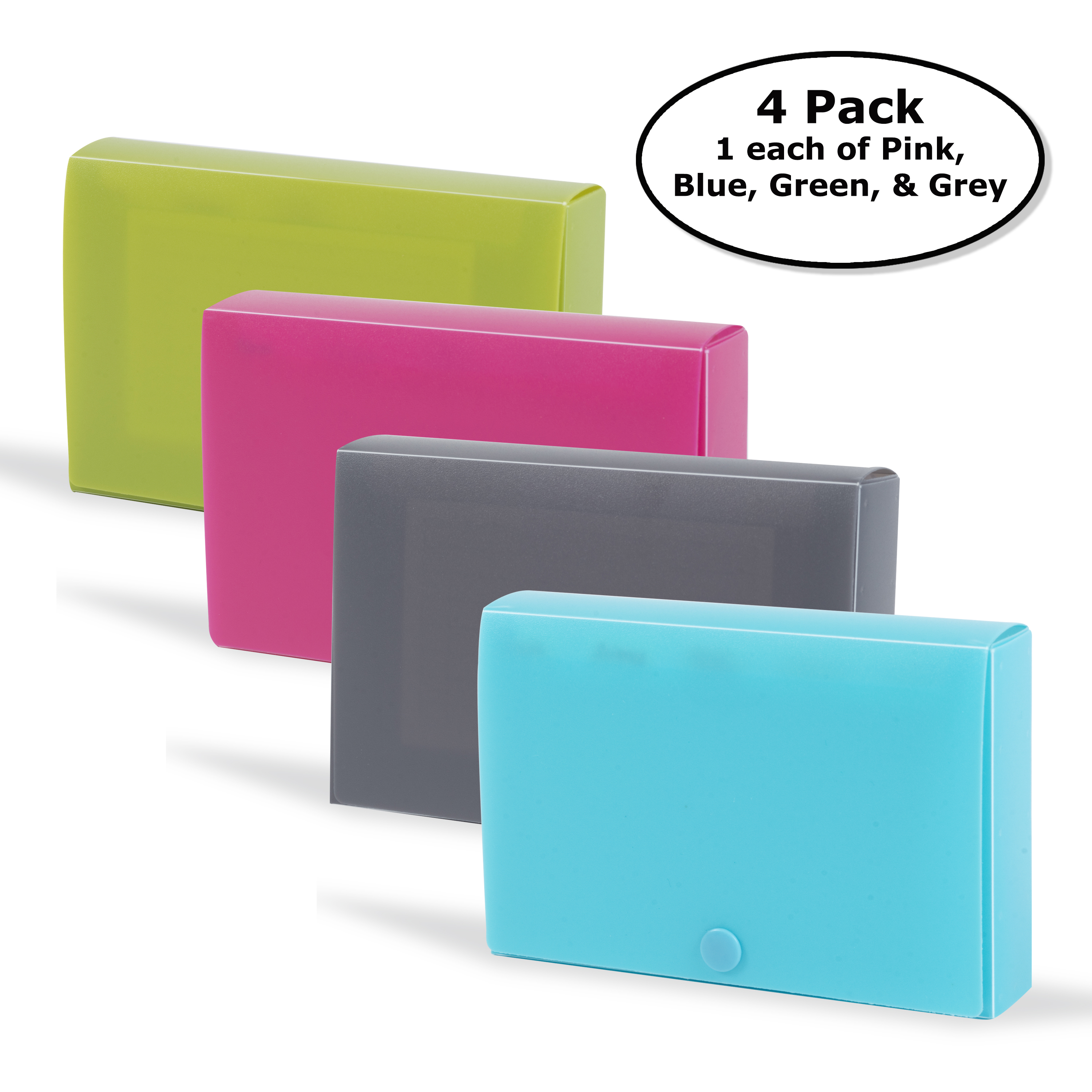 DocIt Index Card Holder 3 x 5 for Storing Recipe Cards School