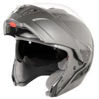 Hawk 'FX ' ST11121 9GM Gun Metal Modular Motorcycle Helmet Gunmetal