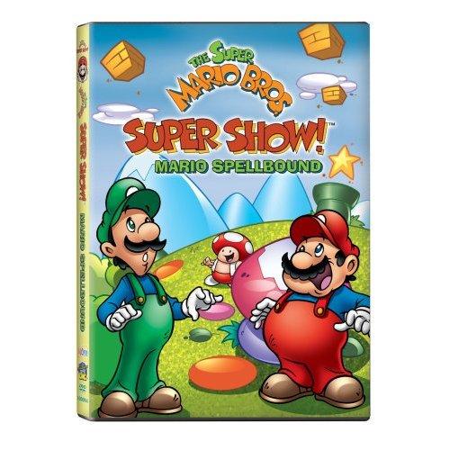 Super Mario Bros Super Show Mario Spellbound Dvd Ncircle