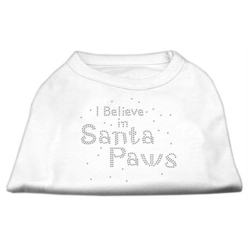 I Believe in Santa Paws Shirt White M (12)