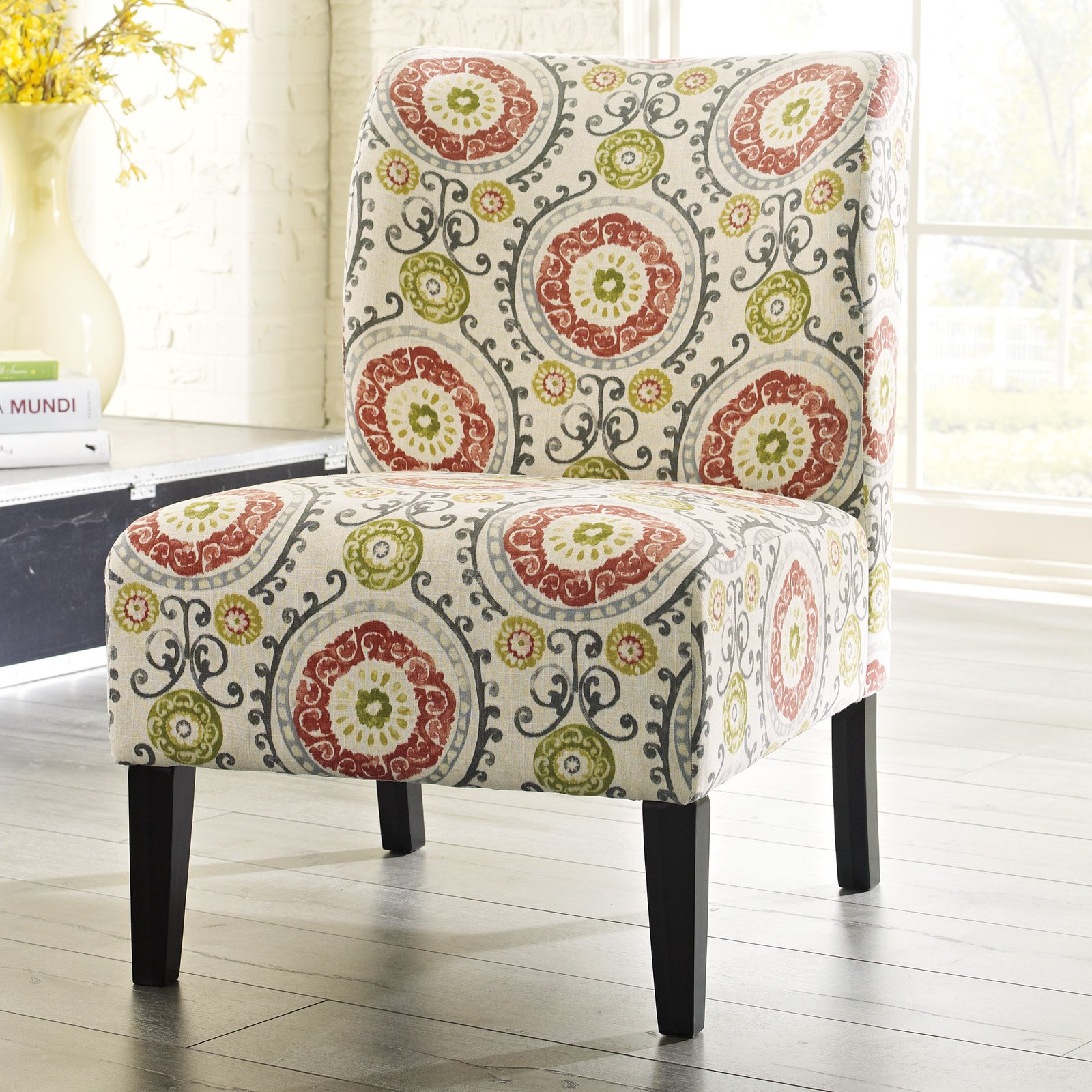 Awesome Floral Accent Chair Creative