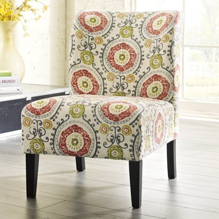 Foreign Accents Furniture - Signature Design by Ashley Honnally Floral Accent Chair