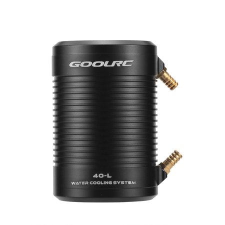 GoolRC Aluminum 40-L Water Cooling Jacket Cover for 4082 4092 RC Boat Brushless Motor - image 6 of 7
