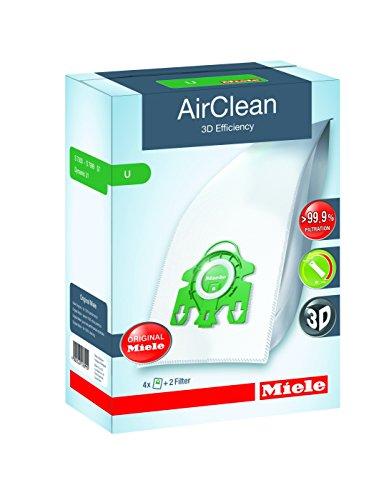 Genuine 3D Miele GN G /& N Hyclean Blue Collar Vacuum Cleaner Bag /& Filter Pack