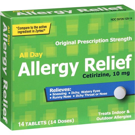 Pl Developments Original Prescription Strength All Day Allergy Relief 10Mg Tablets  14Ct