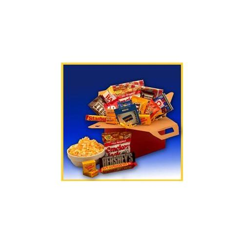 Gift Basket Drop Shipping 819412-Net10 Blockbuster Night Movie Care Package with 1 month Subscription to NetFlix