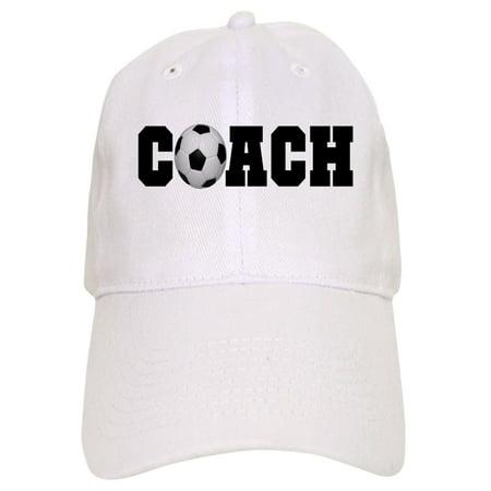 2f2a0c6e74d CafePress - Soccer Coach - Printed Adjustable Baseball Cap - Walmart.com