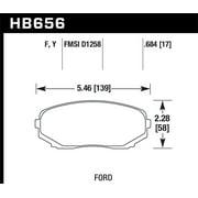 Hawk 07-10 Ford Edge / 10 Lincoln MKX / 07-10 Mazda CX-7/CX-9 HPS Street Front Brake Pads