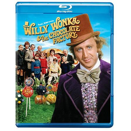 Willy Wonka   The Chocolate Factory  Blu Ray