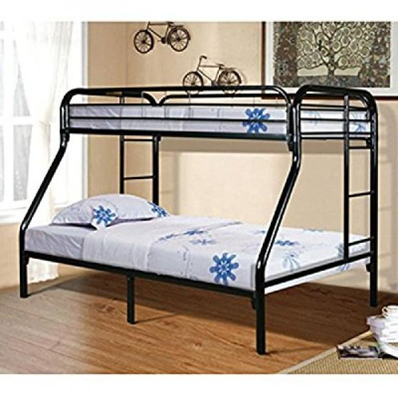 Powell White Twin Bedroom In A Box: Powell Furniture Twin Over Full Bunk Bed
