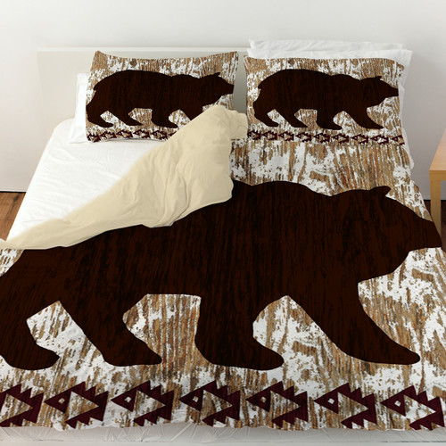 Manual Woodworkers & Weavers Wilderness Bear Duvet Cover