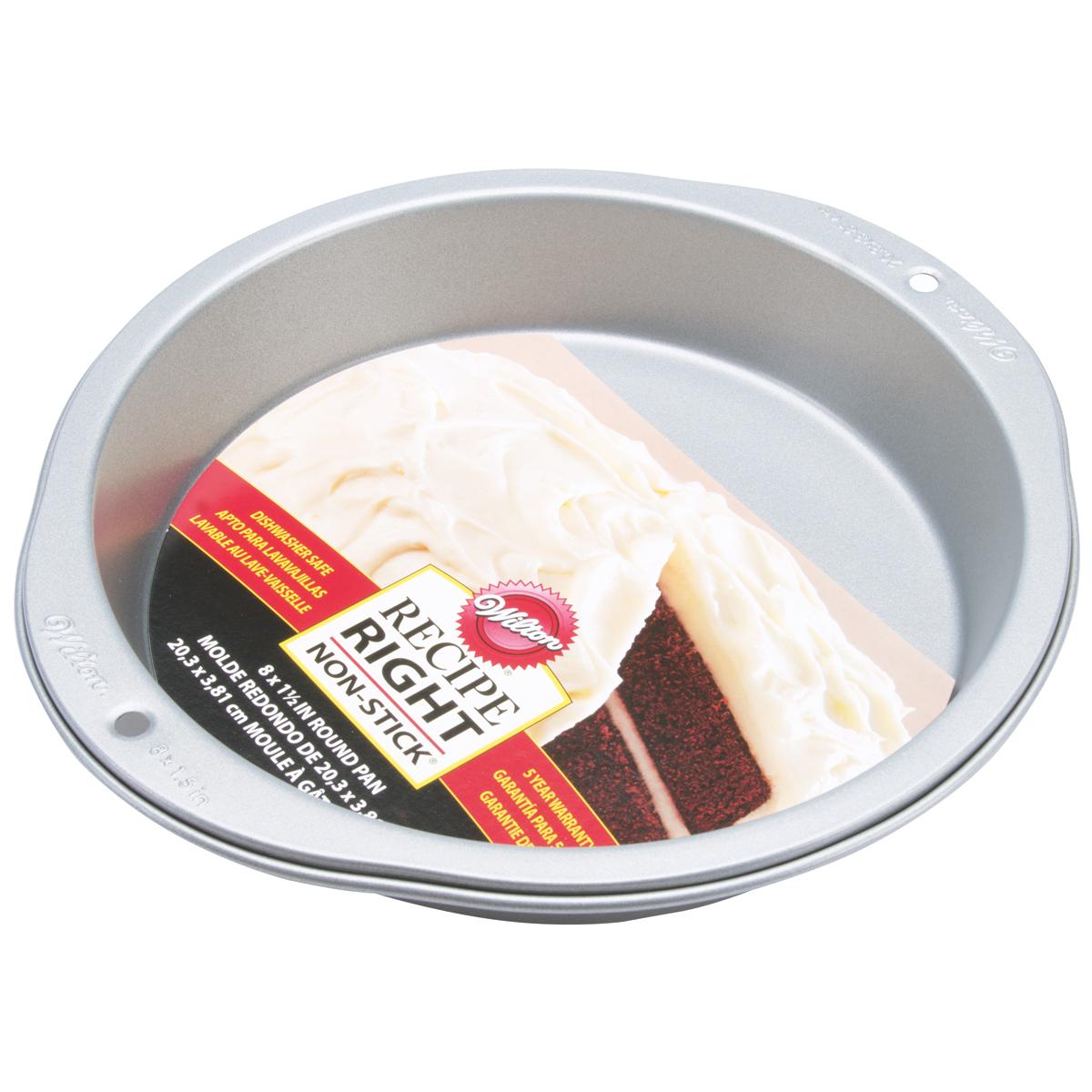"Wilton Recipe Right 8"" Cake Pan, Round 2105-957"