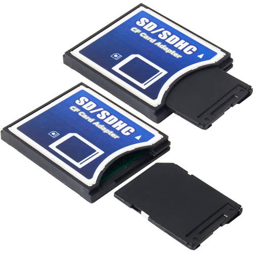 Link Depot Secure Digital SD to CompactFlash CF Flash Memory Adapter