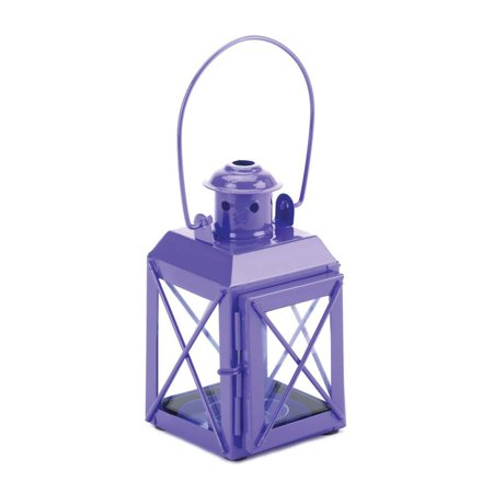 Home Locomotion Mini Crisscross Candle Lamp Purple, 6 different colors to choose from: white, red, yellow, green, blue, and purple By Sunshine Megastore