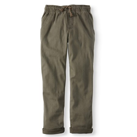 Wonder Nation Pull On Pants (Little Boys, Big Boys, & Husky)
