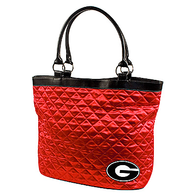 Georgia Bulldogs NCAA Quilted Tote (Light Red)