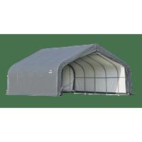 ShelterLogic Garage-in-a-Box 2-Car Garage 18 x 20 x 10.5 ft.