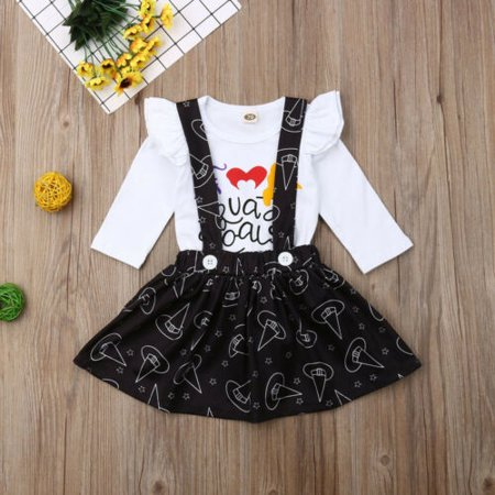 70's Halloween Outfits (Pudcoco Halloween Newborn Infant Baby Girl Outfits Clothes Romper Bodysuit Pants)