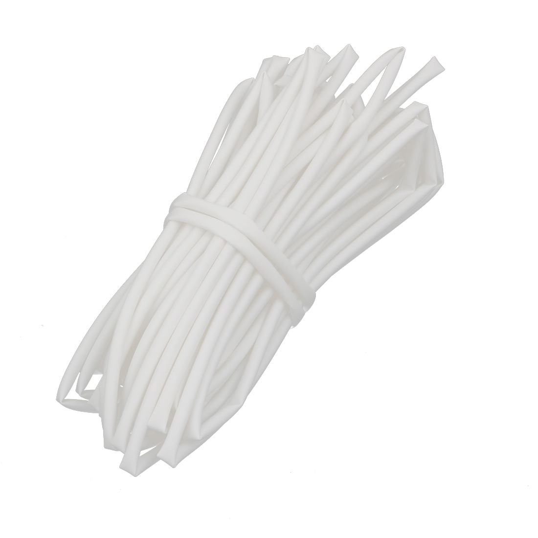 10M Length 2.5mm Inner Dia Polyolefin Insulated Heat Shrink Tube Wire Wrap White