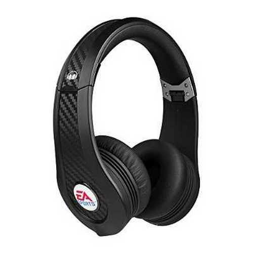 MONSTER 128974 Game MVP Carbon EA Sports Black On-Ear Headphones