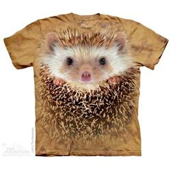 Mountain 8036705 Big Face Hedgehog Mens T-Shirt, 3XL
