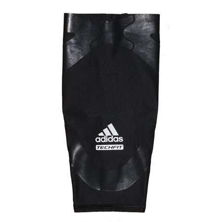 Adidas Black Wristband (Adidas Men's Techfit Basketball Powerweb Compression Calf Sleeve - Black)