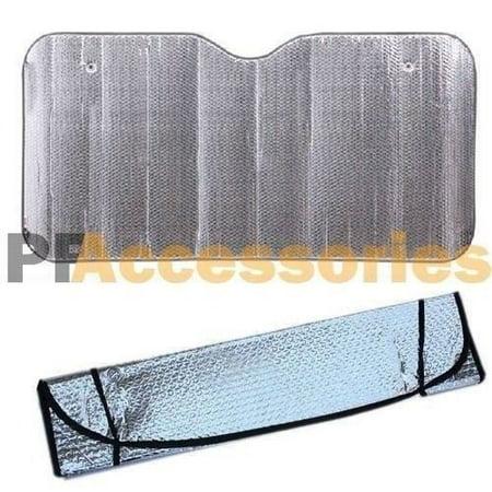 Wideskall® Car Windshield Sunshade Reflective Sun Shade for Car Cover Visor Sun Visor Covers