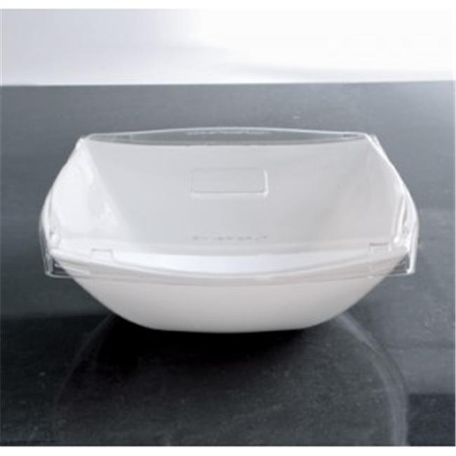 EMI Yoshi EMI-SB128LP 128Oz Square Clear Serving Bowl- Pack of 48