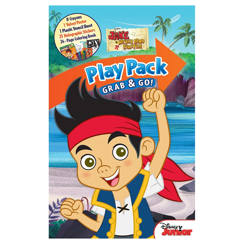 Jake And The Neverland Pirates Playpack Activity Set (Each) - Party Supplies
