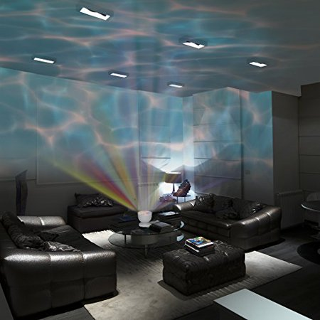 Led Colors Ocean Wave Projector Kamisco