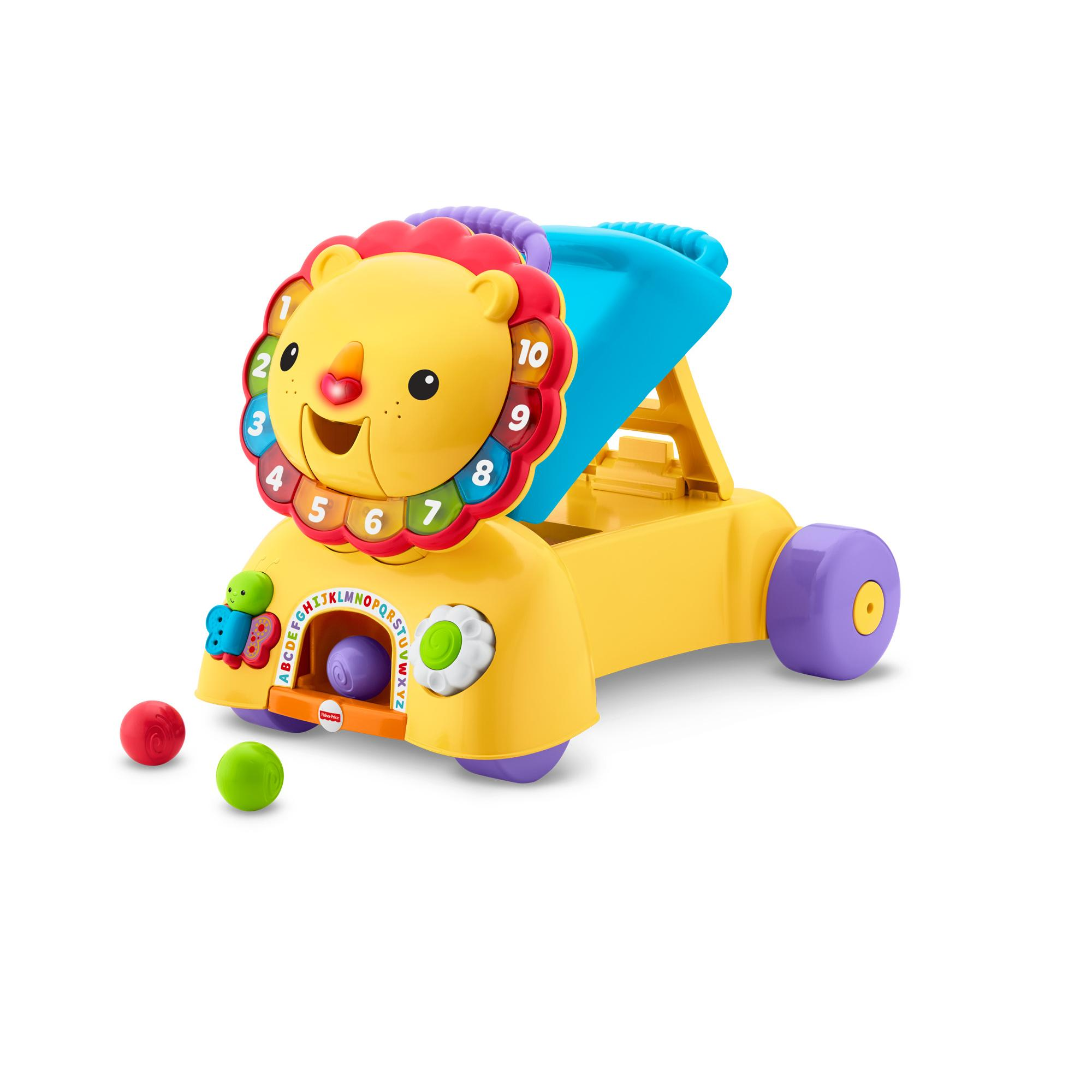 Fisher Price 3-in-1 Sit, Stride and Ride Lion