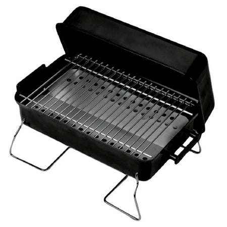 Char-Broil Portable Charcoal (Chrome Charcoal Grill)