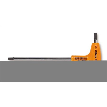 Beta Tools 000960940 96T 5 mm. Offset Hexagon Key Wrenches With High Torque (High Torque Handles)