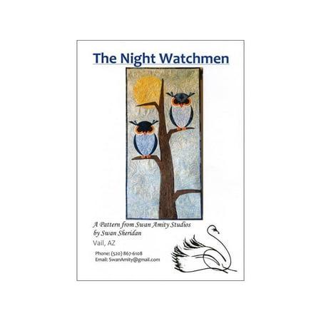 Swan Amity Studios The Night Watchmen Ptrn for $<!---->