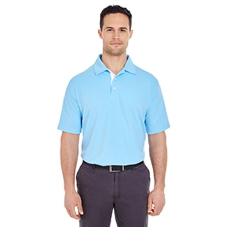 Birdseye Performance Polo (UltraClub Men's Platinum Performance Birdseye Polo with TempControl Technology )