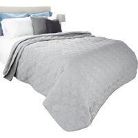 Somerset Home Premium Solid Print 3 Piece Quilt Bedding Set