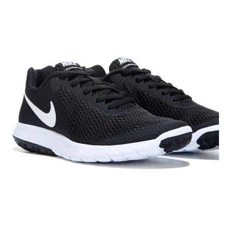 9fe00bb6f1704d Nike - Nike FLEX EXPERIENCE RN 6 Womens Black White Sneakers Running  Athletic Shoes - Walmart.com