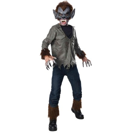 Boys Wolfman Halloween Costume Universal Studios Monsterville (Universal Studio Halloween Singapore)