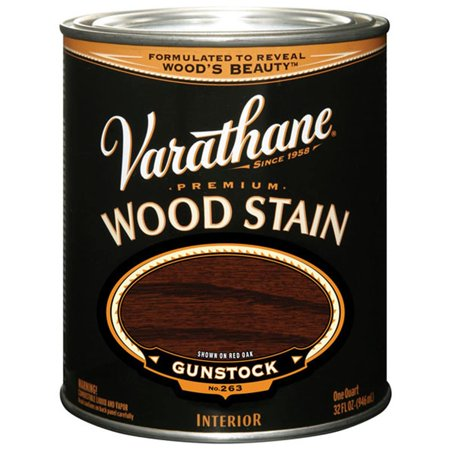 Varathane  211728H 1 Quart Gunstock  Premium Wood Stain