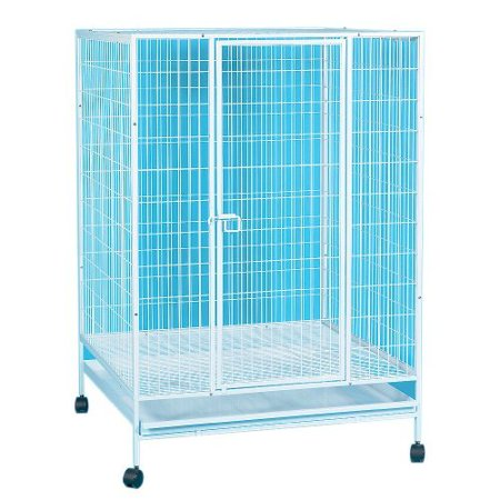 Yml Small Animal Cage With Wire Bottom Grate And Plastic