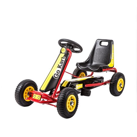 Kinbor Kids Pedal  Go Kart Ride On Car Racing Outdoor Riding Toy](Gokart Kits)