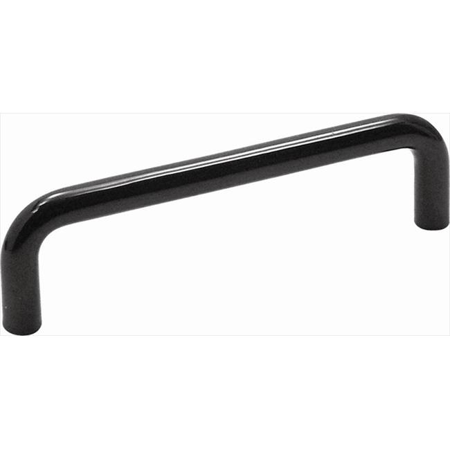 Hickory Hardware PW396-22 96mm Midway Black Cabinet Pull