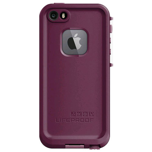 LifeProof FRE WaterProof case for iPhone 5/5S/SE - Crushed Purple