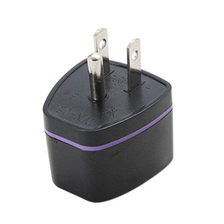 JOYFELL Universal UK/US/EU/AU to US United States America Japan Canada US 3 Pin Travel Power Adapter Plug Converter ()