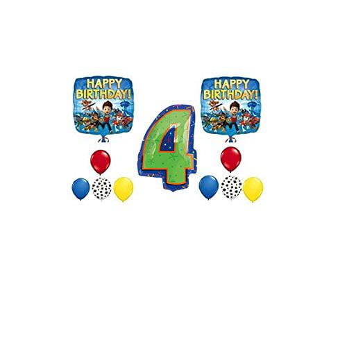 PAW Patrol 4th Happy Birthday Balloon Decoration Kit