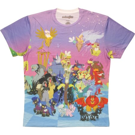 My Little Pony Villains Sublimated T-Shirt (Girl Villains)