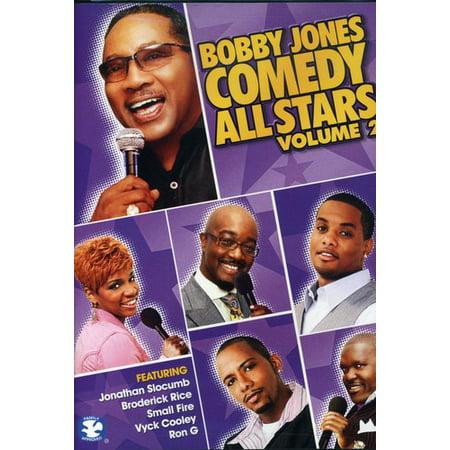 Bobby Jones Comedy All Stars Volume 2 (DVD)