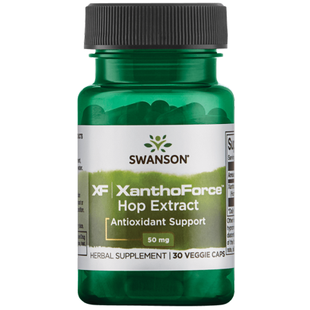 Swanson Xanthoforce Hop Extract 50 mg 30 Veg Caps